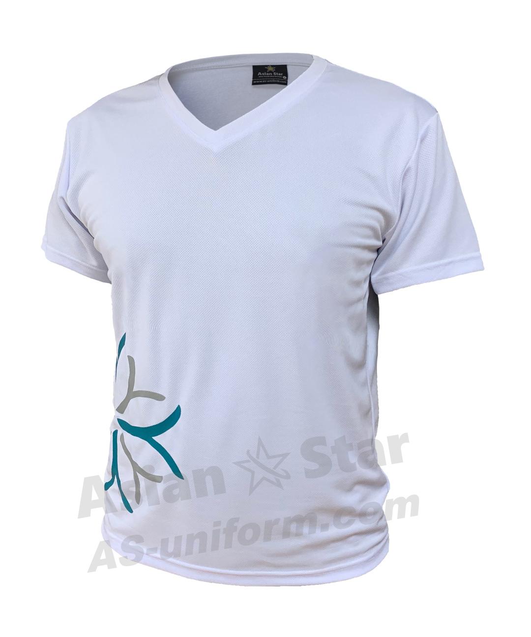 訂造V領T恤 AS104