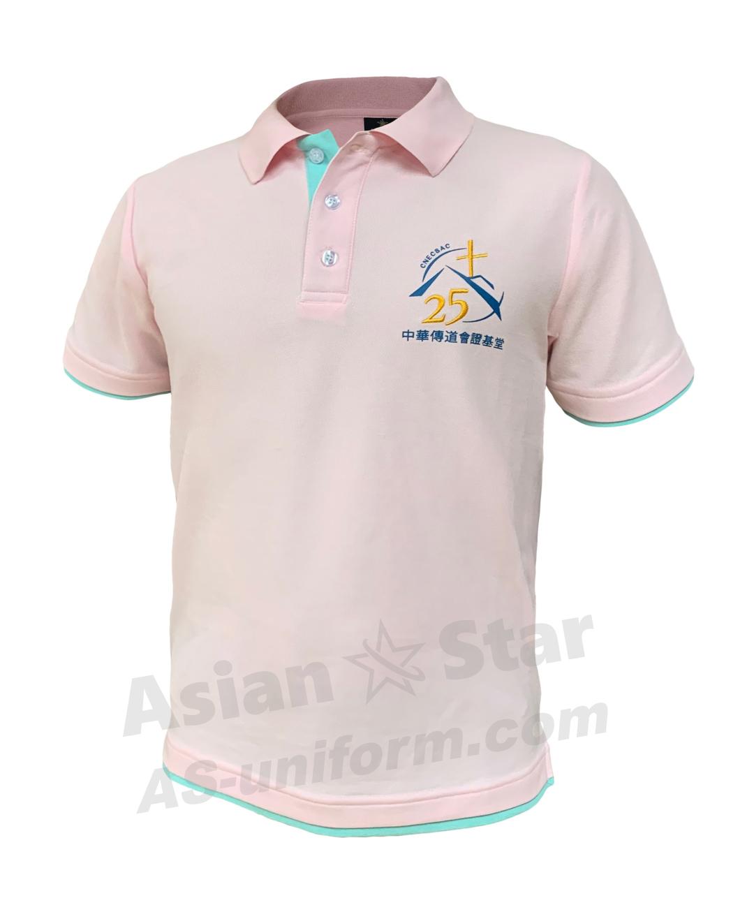 Polo反領衫訂製AS203