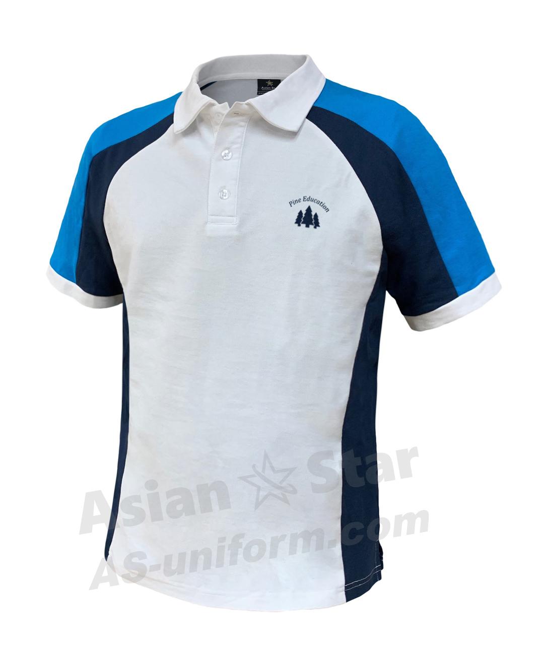 三色訂造Polo恤AS212