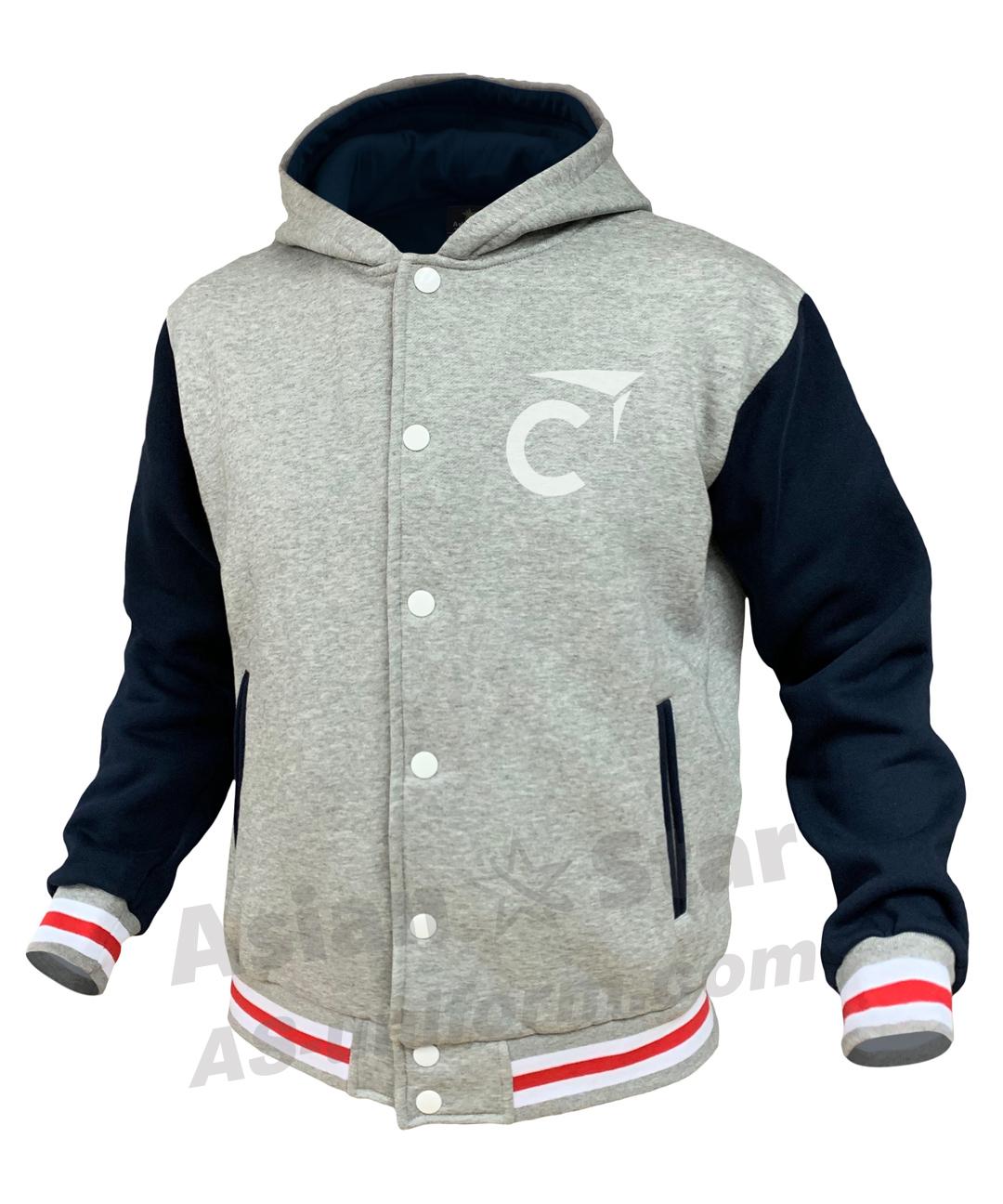 訂造棒球褸衛衣AS308