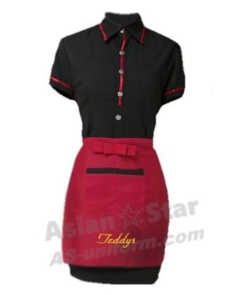 餐飲工作服 制服 圍裙 AS803